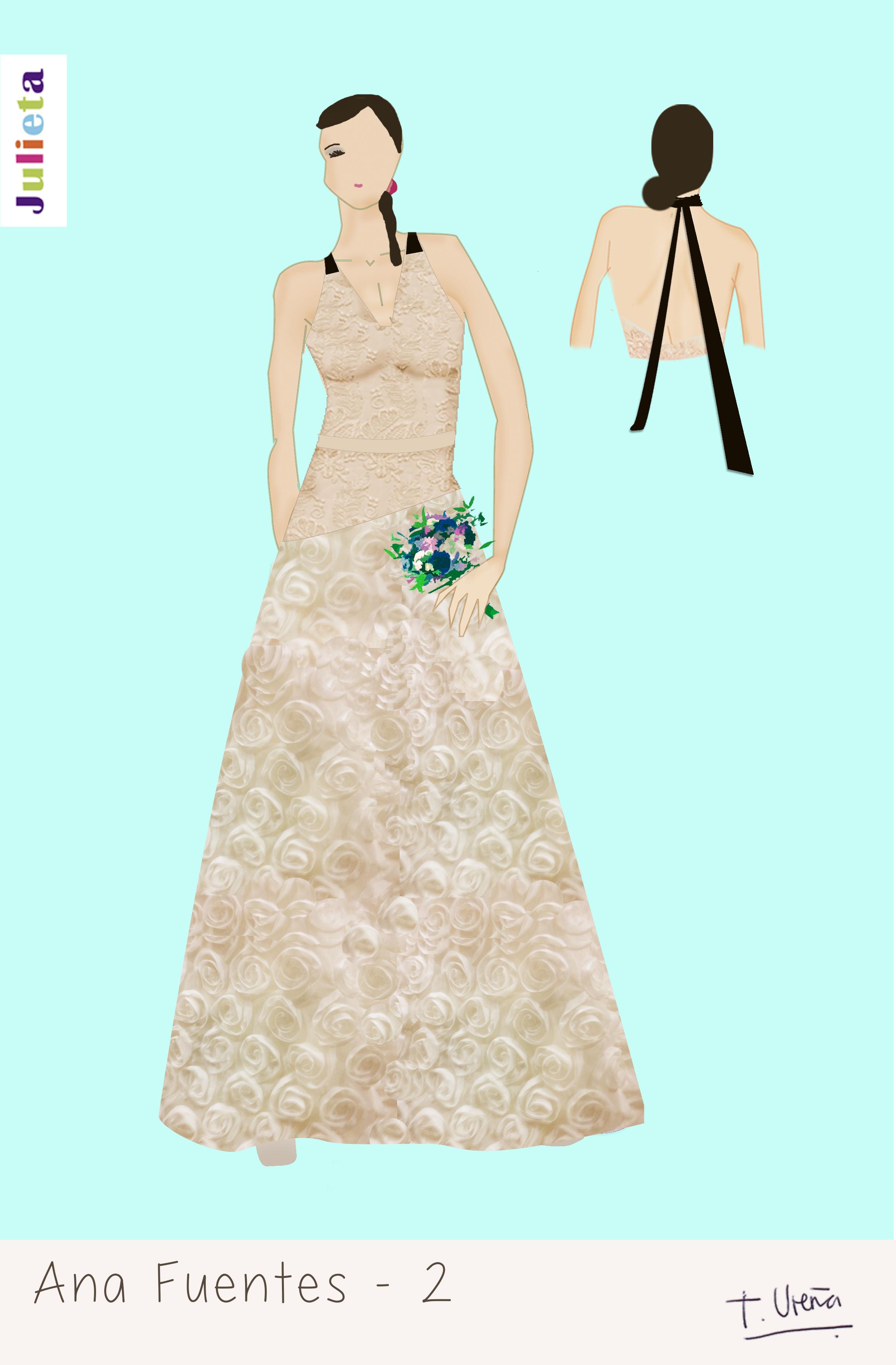 Cómo hacemos los vestidos de novia? – julieta