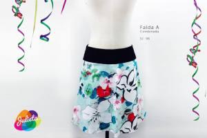 Falda A combinada