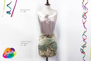 Falda Tulipa Venados