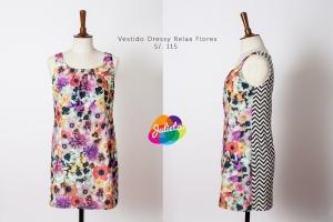 vestidodressyrelaxflores